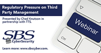 {Webinar} Regulatory Pressure on Third Party Management