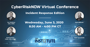 {Virtual Conference} Cyber Risk NOW: Incident Response Edition