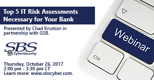 {Webinar} Top 5 Risk Assessments Necessary for Your Bank