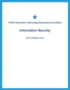 FFIEC IS Booklet – Focus on Security Operations