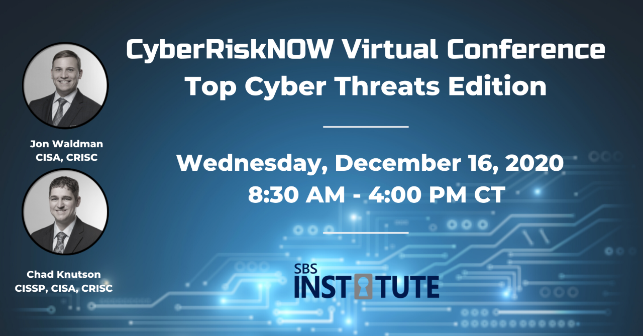 CyberRiskNOW: Top Cyber Threats Edition