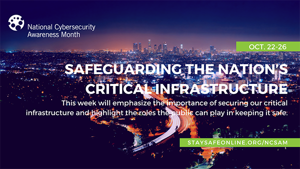 Safeguarding the Nation's Infrastructure