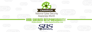 Cybersecurity Awareness Month at SBS