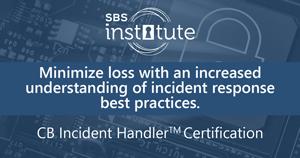Certified Banking Incident Handler