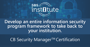 Certified Banking Security Manager Professional