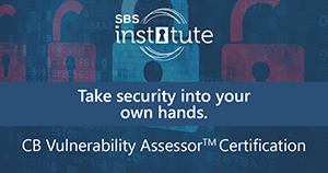 Certified Banking Vulnerability Assessor