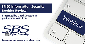 {Webinar} FFIEC Information Security Booklet Review