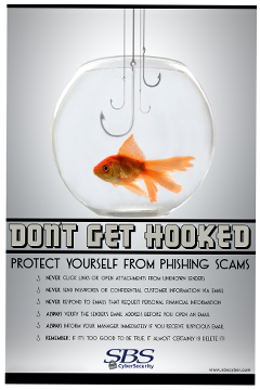 Don't Get Hooked, Protect yourself from phishing scams